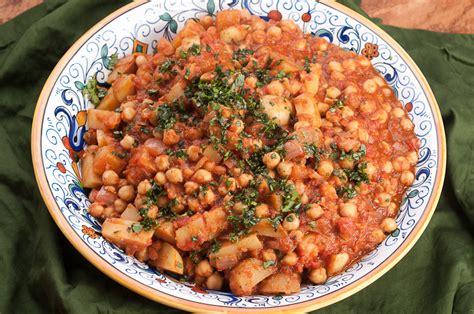 Ottoman Food Recipes Turkish Chickpea And Potato Stew With Baharat Recipe Herbivoracious Vegetarian Recipe