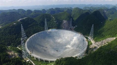 fast epp world s tallest in china the world s radio telescope is now