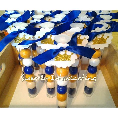 Royal Blue And Gold Decorations by 12ct Royal Blue White Gold Prince Theme Gumball Favors