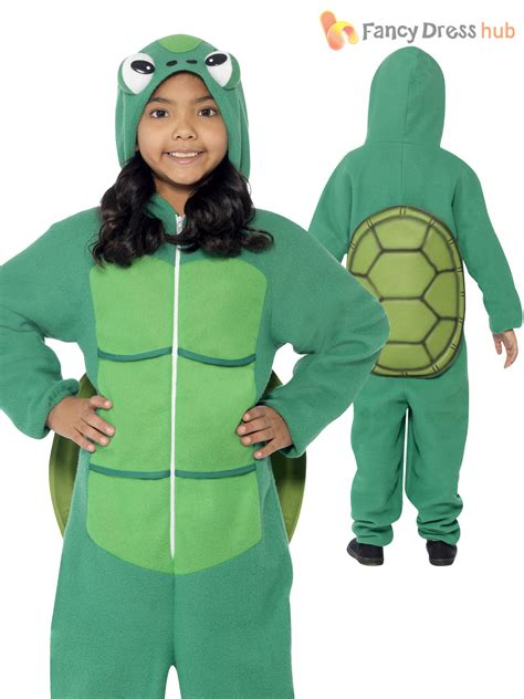 Dress Turtle Kid turtle costume all in one child boys world book week day animal fancy dress ebay