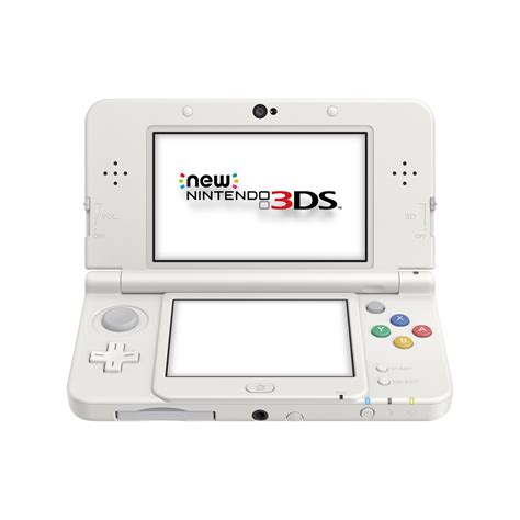 console nintendo 3ds new nintendo 3ds console white the gamesmen