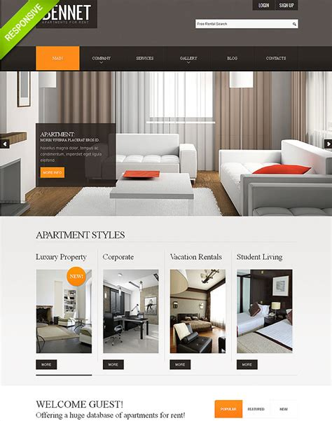 Best Photos Of Apartment For Rent Template Apartment For Rent Flyer Templates Free House For Apartment Website Templates Free