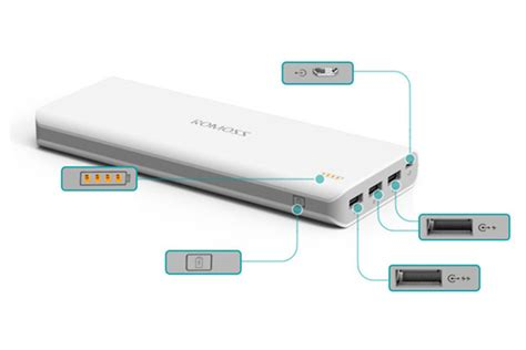Power Bank Samsung Kapasitas 25000mah romoss sense 9 25000mah portable power bank for mobile
