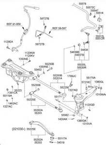 2002 Hyundai Santa Fe Rear Suspension Hyundai Rear Suspension Arm