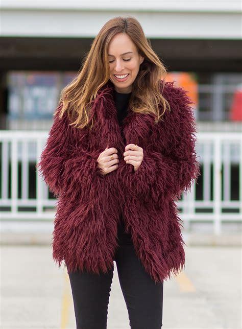 faux fur best six colorful faux fur coats 150 winter fashion