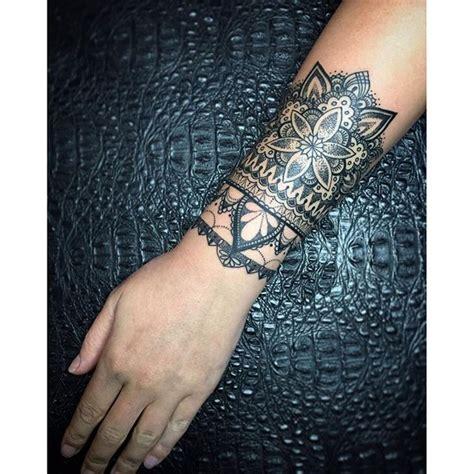wrist sleeve tattoos best 25 mandala wrist ideas on mandala