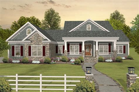 Southern Style House Plan 3 Beds 3 Baths 2156 Sq Ft Plan Ranch House Plans With Screened Porch