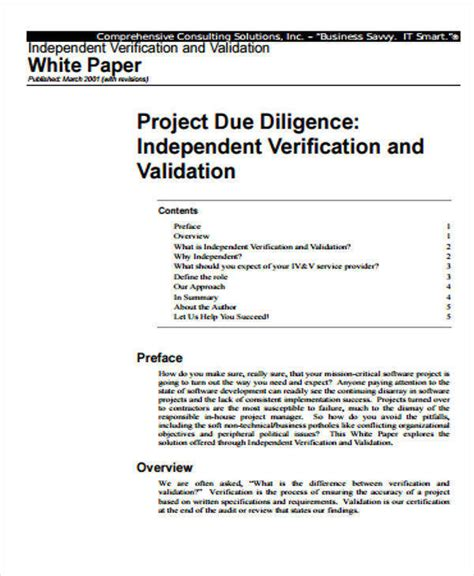 business white paper template 32 white paper formats