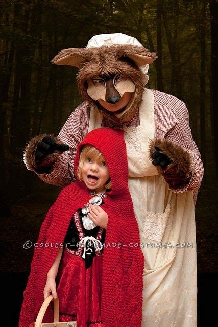 scary homemade big bad wolf costume wolf costume