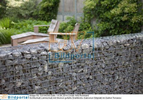 Feuerkörbe Im Garten by Sichtschutz Garten Gabionen
