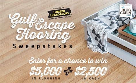 Flooring Sweepstakes 2016 - hgtv gulf escape flooring sweepstakes sweepstakesbible