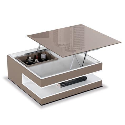 table basse en verre pliante choix d 233 lectrom 233 nager