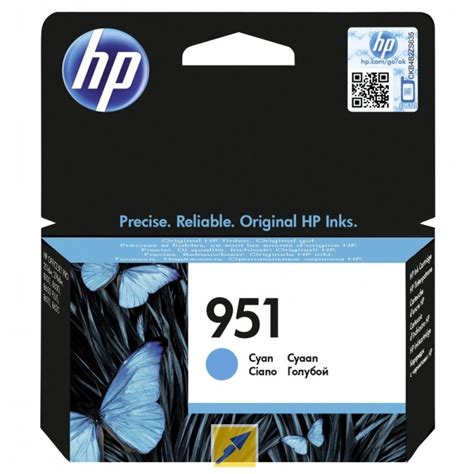 Barang Istimewa Catridge Hp 951 Xl Cyan 970xl black officejet ink cartridge