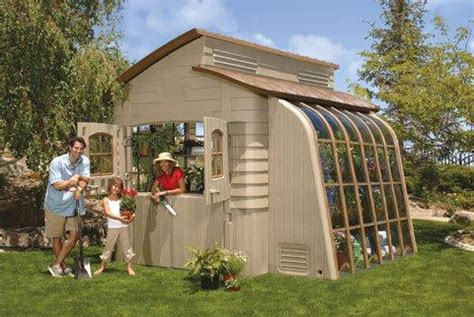 Thinking Outside Smart Shed by Greenhouse Assembly Manual Thinking Outside Model 44115 Walter Reeves The Gardener