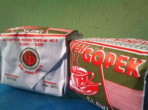 Franchise Teh Gopek asal muasal nama teh gopek artikel indonesia kumpulan