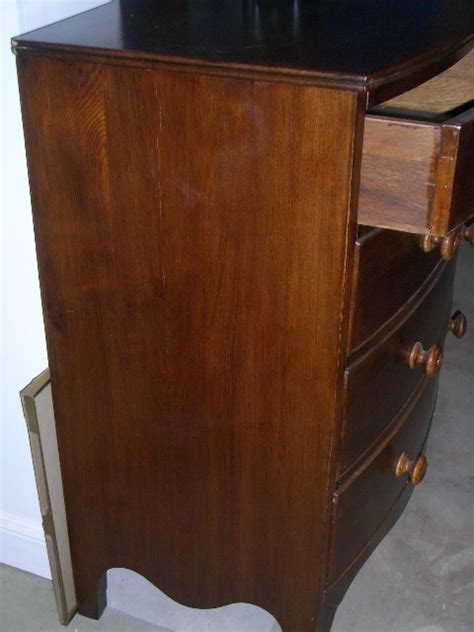 Solid Chest Of Drawers For Sale by Bow Front Chest Of Drawers Solid Oak For Sale Antiques