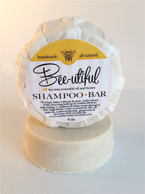 Country Soap Co by Bee Utiful Shoo Bar 4oz Amish Country Soap Co