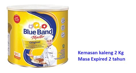 Blue Band 2kg cooking club ufs product knowledge keunggulan