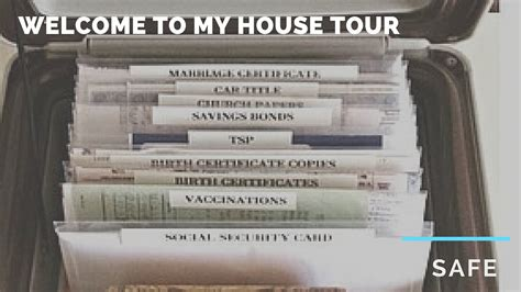 How To Keep Documents welcome to my house tour how to keep important documents