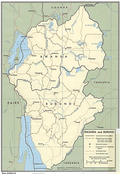 burundi map nationmaster maps of burundi 15 in total