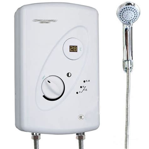 freely adjust water temp instant shower electric water