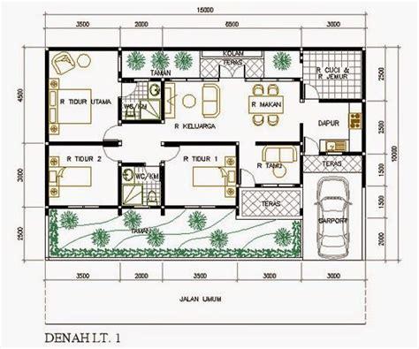 desain rumah 10 x 15 meter hasil gambar untuk desain rumah 10x20 rumah pinterest