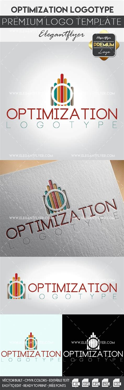 Optimization Premium Logo Template By Elegantflyer Premium Logo Templates