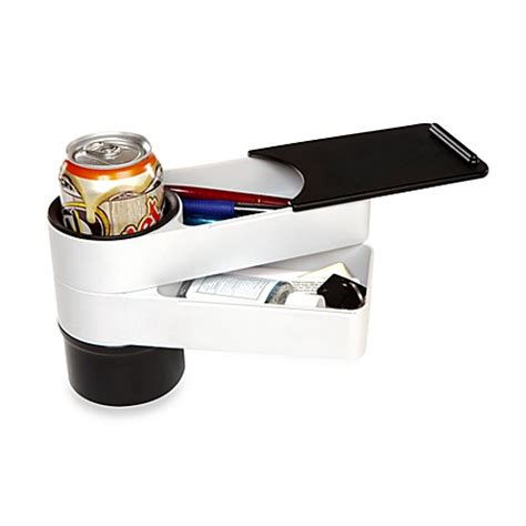 bed with cup holder buy quirky 174 travelstacks cup holder from bed bath beyond