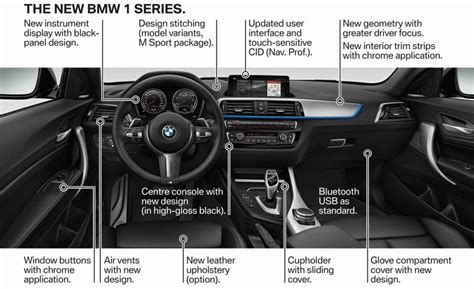 bmw inside 2017 2017 bmw 1 series update announced last rwd before fwd