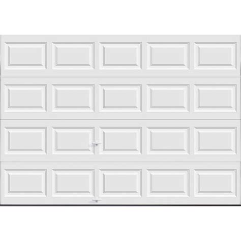 Garage Door 10 X 7 Ideal Door 174 10 Ft X 7 Ft 5 White Raised Pnl Insul