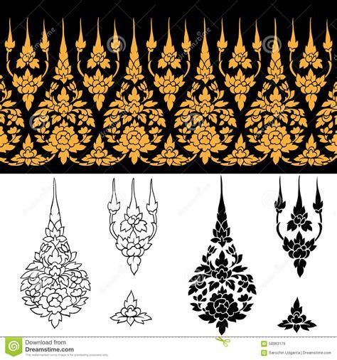 thai design line thai design stock vector image 58963176