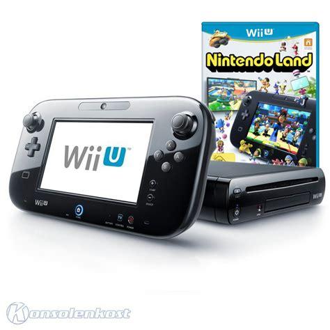 Nintendo Land Wii Bekas wii u konsole 32 gb schwarz nintendo land tablet