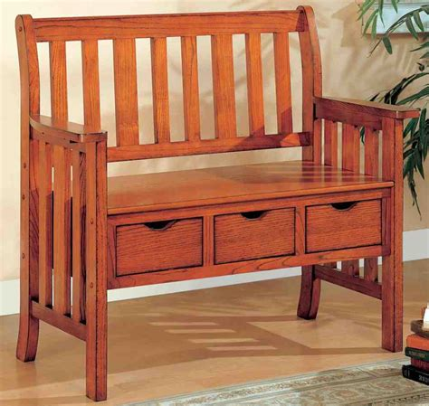 improve bench wooden bench with storage home furniture design