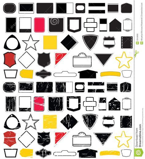 design is shape logo shape designs no 2 stock vector image of logo