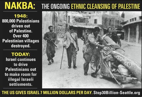 nakba the ongoing ethnic cleansing of palestine a new
