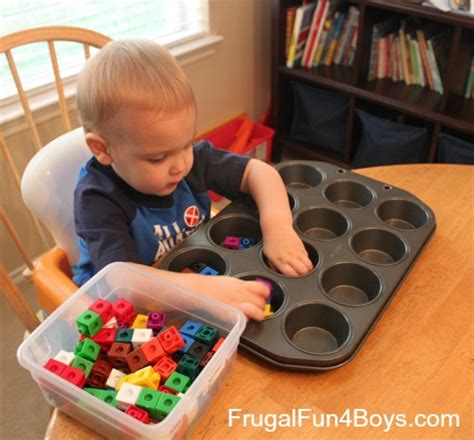 10 activities for busy toddlers