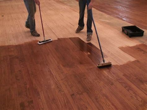 can you stain hardwood floors without sanding church floor refinishing hardwood floor refinishing