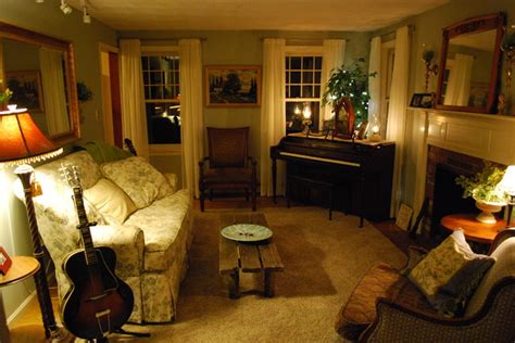 cozy room cozy living room with ivory sheers