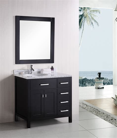 Modern Single Bathroom Vanity 36 Quot Modern Single Bathroom Vanity Set Direct To You Furniture