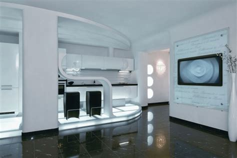 futuristic decor interior design ideas modern futuristic apartment ideas in ukraine interior
