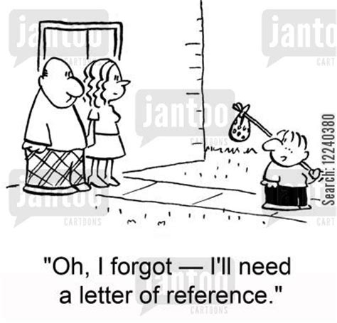 Reference Letter Joke reference humor from jantoo