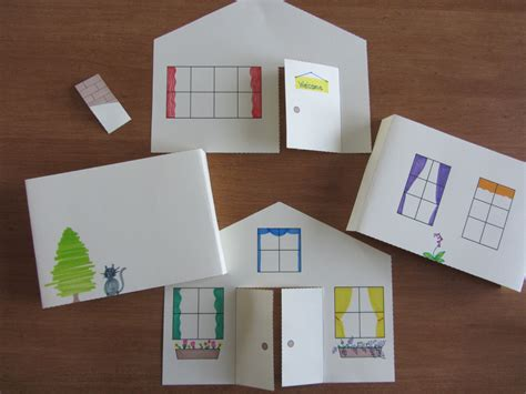 Paper Craft Home - 3d paper house craft for instant template