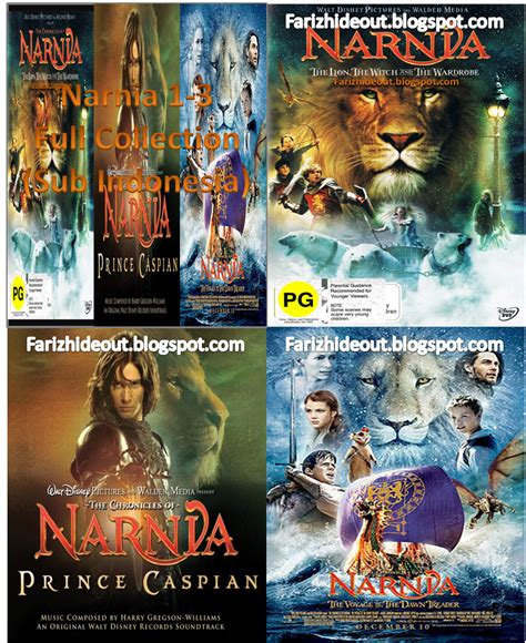 film narnia yang pertama narnia 1 3 complete collection subtitle indonesia full