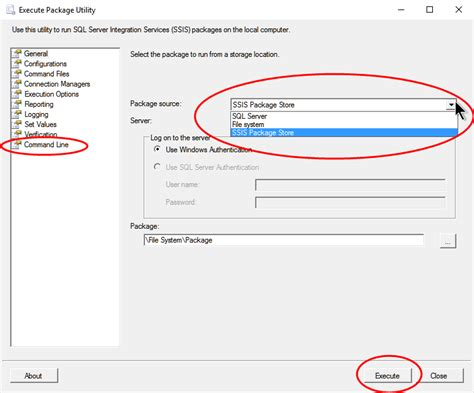 how to install dtexec running ssis packages in 64 bit intertech blog