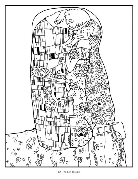 frenzy coloring book for all books gustav klimt coloring book