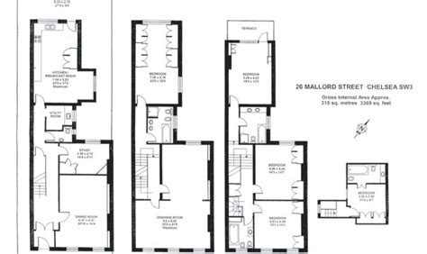 narrow townhouse floor plans 25 narrow townhouse floor plans ideas architecture plans