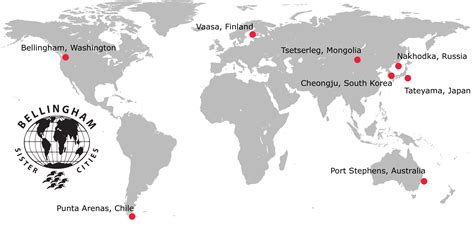world map without cities our cities bellingham cities association
