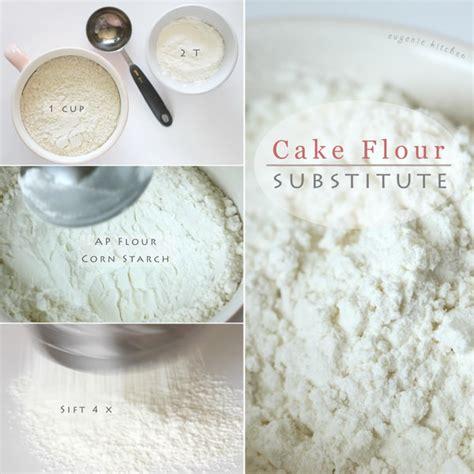 how to make cake flour homemade substitute recipe