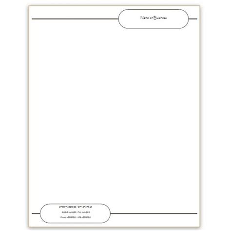 Personal Stationery Template Word Invitation Template Free Letterhead Templates For Microsoft Word