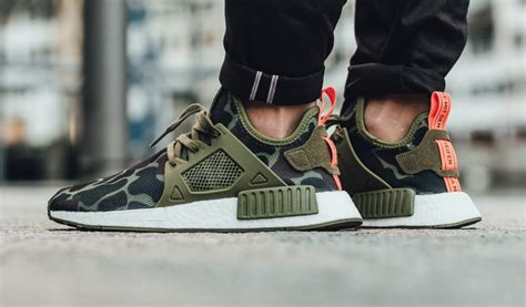 Adidas Original Nmd Xr1 Duck Camo Green Authentic Size Uk 8eu 42 nmd xr 1 green duck camo on unboxing
